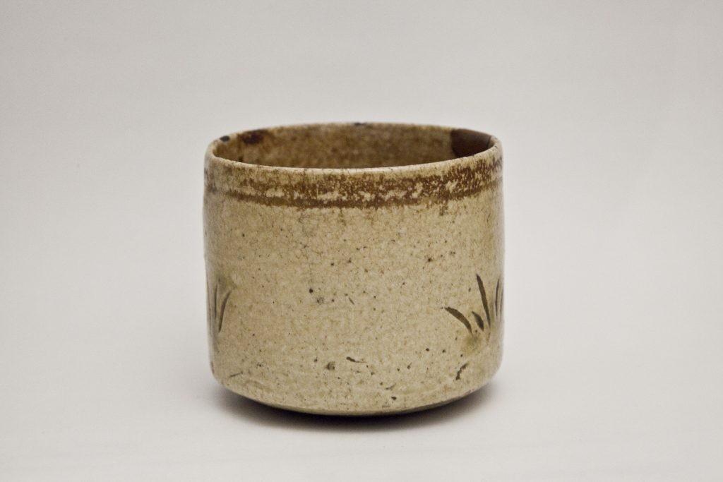 黄瀬戸茶碗『本歌取』|コレクション|茶道具事典